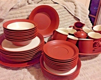 Japanese epoch shudei China Vintage dinnerware of 43 Pieces Set