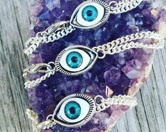 Eye of protection bracelets