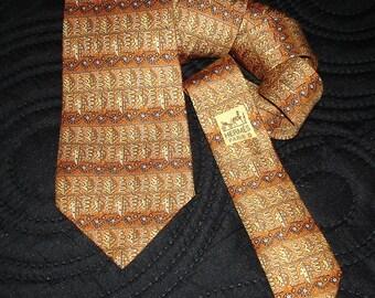 Hermes Silk Tie 7718 OA Made in France HERMES