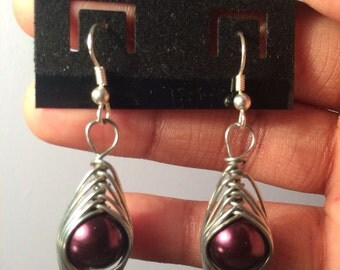 HerringBone Dangle Earrings