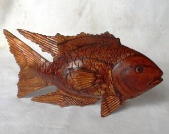 Fish, wood carving (fshkoi8)