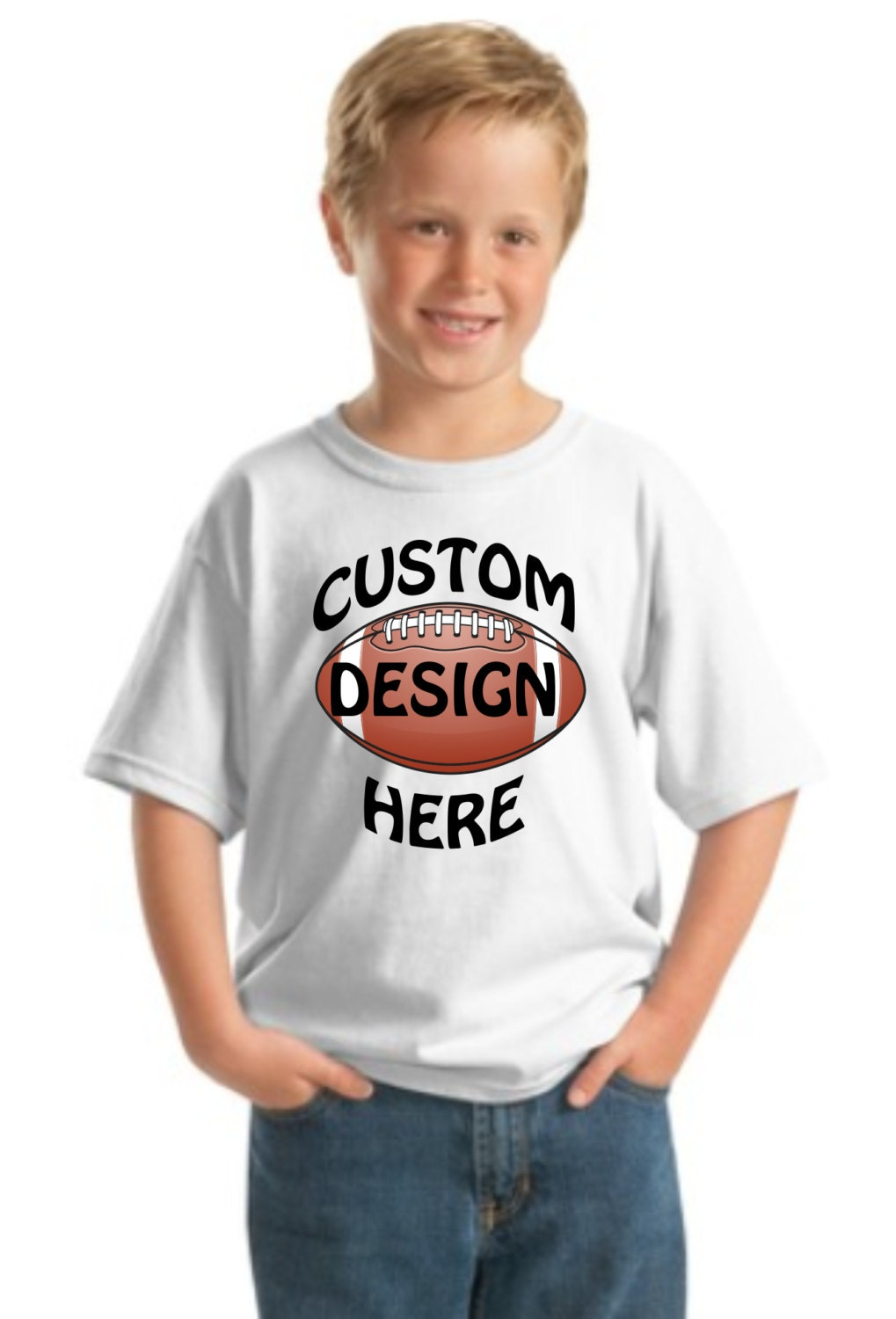Youth T Shirt With Custom Full Color Design