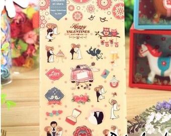Happy Valentines Sticker
