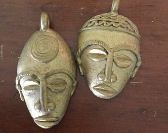 Two Small masks from West Africa