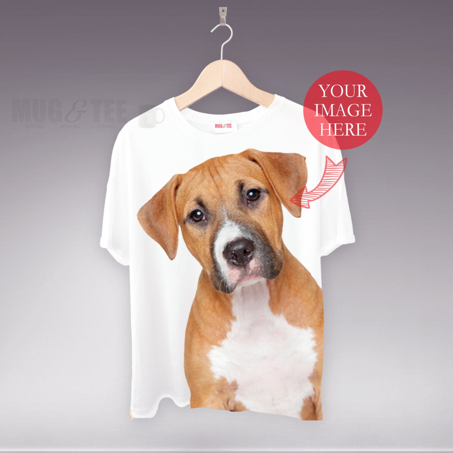 Personalized T Shirt Pet T Shirt Print My Pet Dog T Shirt