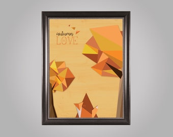 "Displays ""Autumn Love"""
