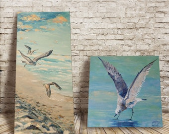 diptych seagull