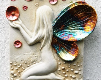 Orb Fairy Wall Plaque