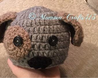 Newborn Puppy Dog Hat, Photo Prop, Newborn Photo Prop, Newborn Puppy Dog Photo Prop