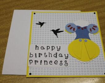 Happy Birthday Princess - Snow White