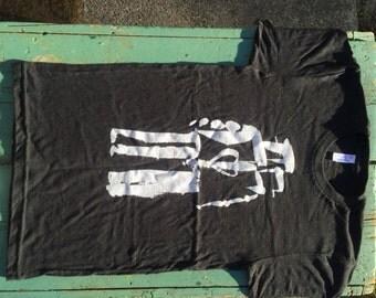Robot Love - Black t-shirt