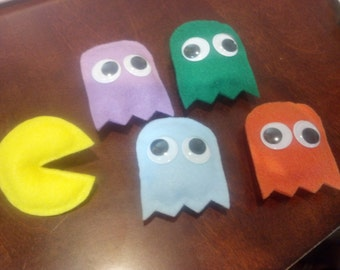 Pac-Man Plush Magnets
