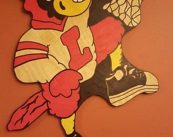 University of Louisville basketball. Louisville Cardinal Dunking Bird