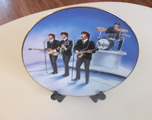 "The Beatles ""Live In Concert"" Collectors Plate."
