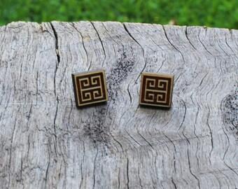 Tile Earrings