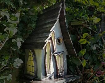 Sleepy Hollow birdhouse/birdhouses /handmade /Garden art /bird houses /birdhouses