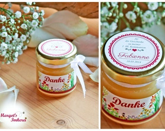 5 x honey - sweet gifts to the wedding