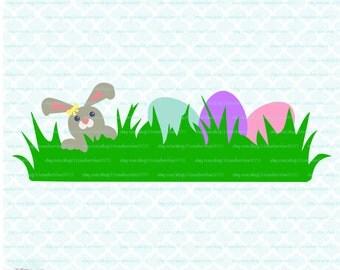 Easter svg Egg Hunt svg Easter Egg svg Easter Bunny svg dxf eps jpg svg files for Cricut Silhouette svg cut files