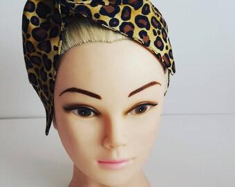 Leopard Print Wire Hair tie