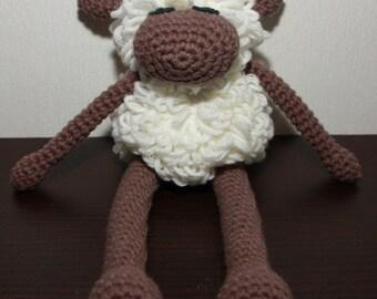 Häkeltier sheep / Amigurumi