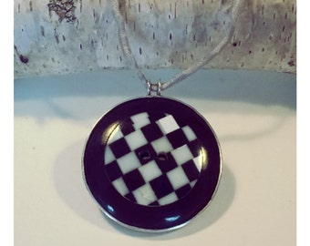 Trailer, Paula silver, pendant, button
