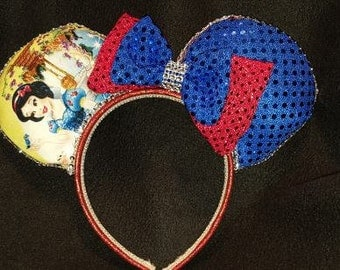 Snow White with Animals Disney Inspired Ears