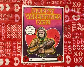 Twin Peaks Log Lady Valentine