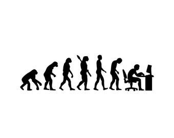 Darwin sticker | Darwinism | Darwin decal