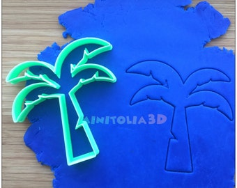 Coconut Tree Cookie Cutter
