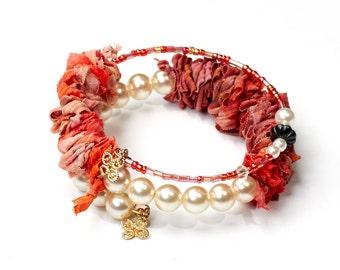 Bangle Bracelet spiral bracelet memory Wire Bracelet