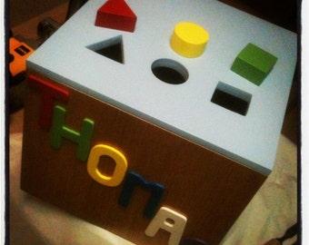 Toybox / stool / playful game
