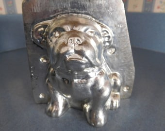 Bull Dog #4106 Vintage Metal Candy Mold