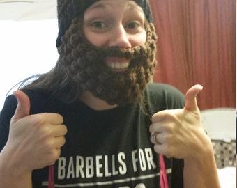 Adult Bearded Beanie