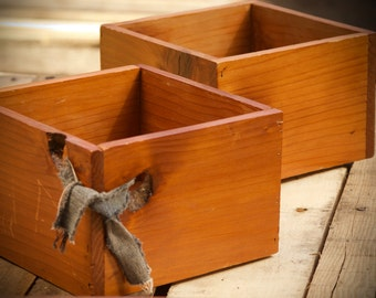 Redwood Planters / Shadow Boxes