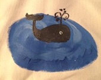 Whale Child's Apron