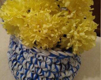 Handmade Crocheted Basket