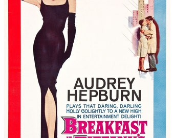 Vintage Breakfast at Tiffany's Poster Print