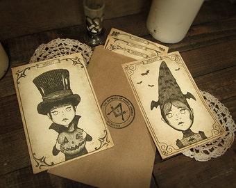 Orphans Postcard Set