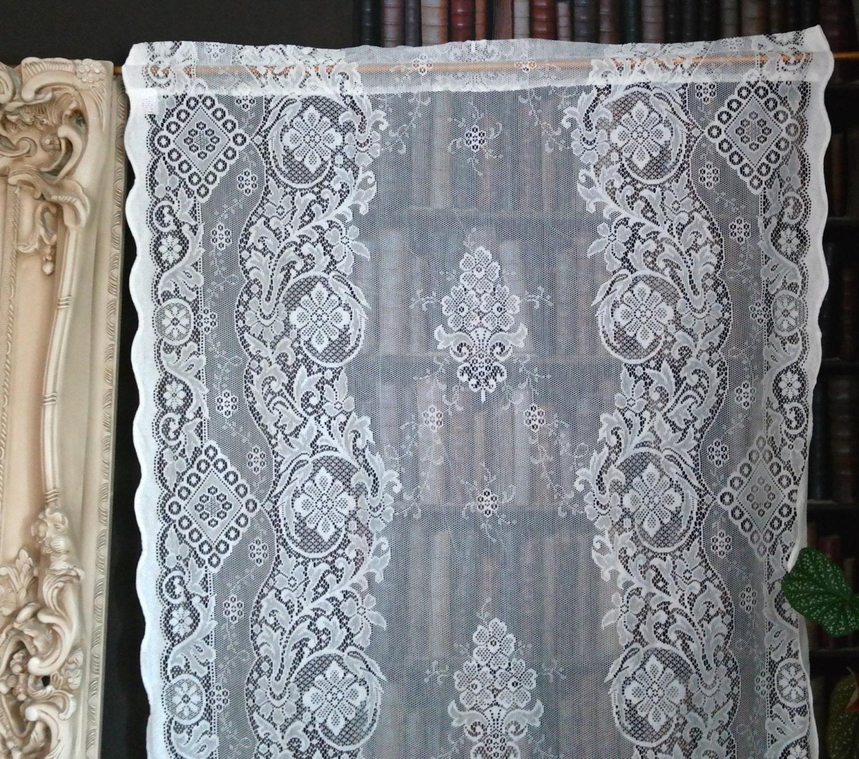 jessica a beautiful victorian design c1895 cotton lace curtain