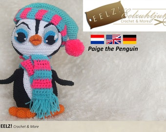 Paige the Penguin - Crochet Pattern