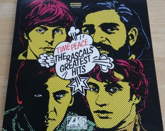 The Rascals - Time Peace: The Rascals' Greatest Hits  - SD 8190 - 1968 (1980's reissue)