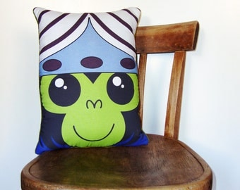 Mojo Jojo from The Powerpuff Girls pillow plush cushion [MADE TO ORDER]