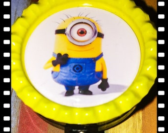 Minion Retractable ID Name Badge pull