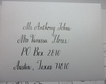 Mae style Envelope Addressing