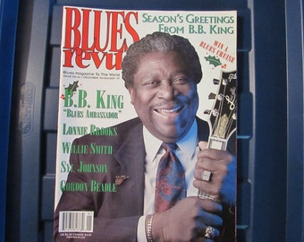 Blues Revue Magazine December 96/January 97 B.B. King