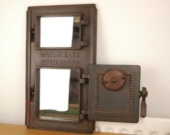 Danish Stove Front Mirror