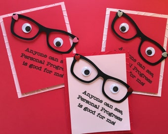 Personal Progress Eyeglasses Handout
