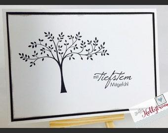 Handmade Memorial card