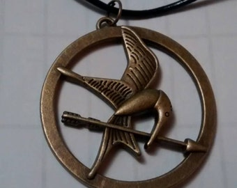SALE!!!!!! Hunger Games Mockingjay Necklace