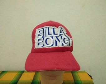 Rare Vintage BILLABONG Surf Sounds 73 Cap Hat Free size fit all